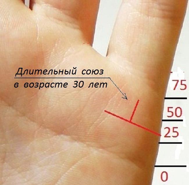 Сколько будет браков по руке с картинками