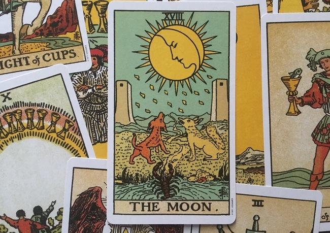 Луна таро совет карты